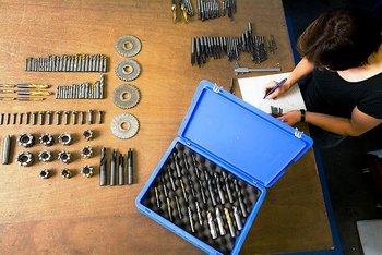 Schonender Umgang mit Präzisionswerkzeugen - Werkzeugkultur bei WEMA GmbH