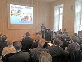 Max Prem referiert an der TU Wien