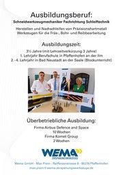 Ausbildungs Flyer 2014- 2015 Seite 1