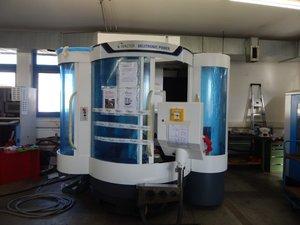 Aufbau der Walter Helitronic Power CNC