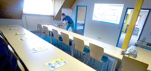 WEMA Zerspanungsseminare - Seminarraum