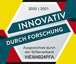 Innovativ durch Forschung - Auszeichnung 2014- 2015